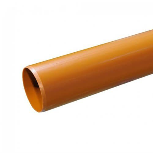 110mm X 3m Plain Ended Pipe