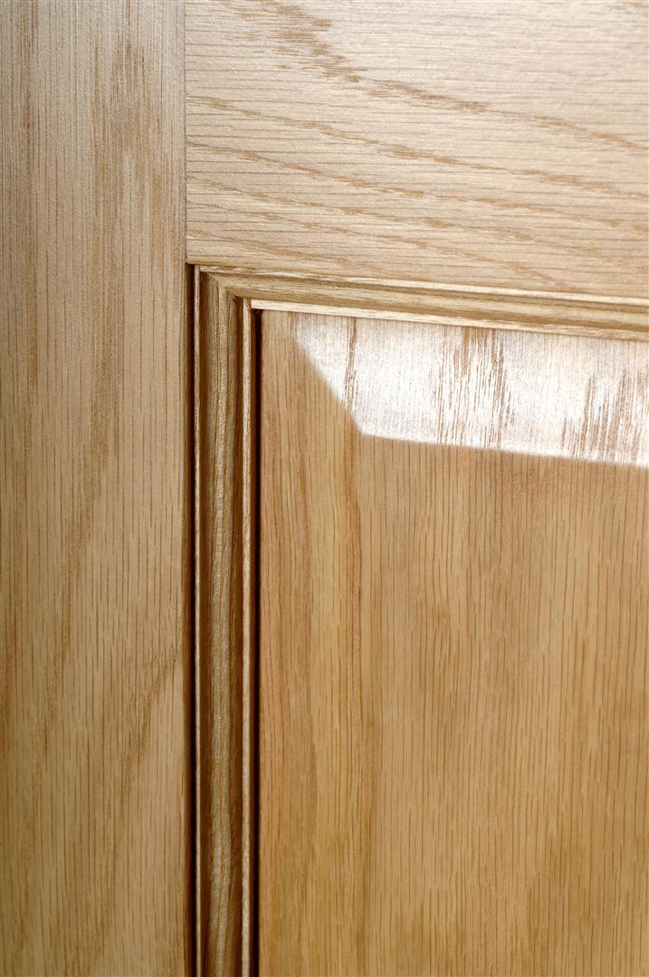 Deanta Pre Finished Oak Bury Door