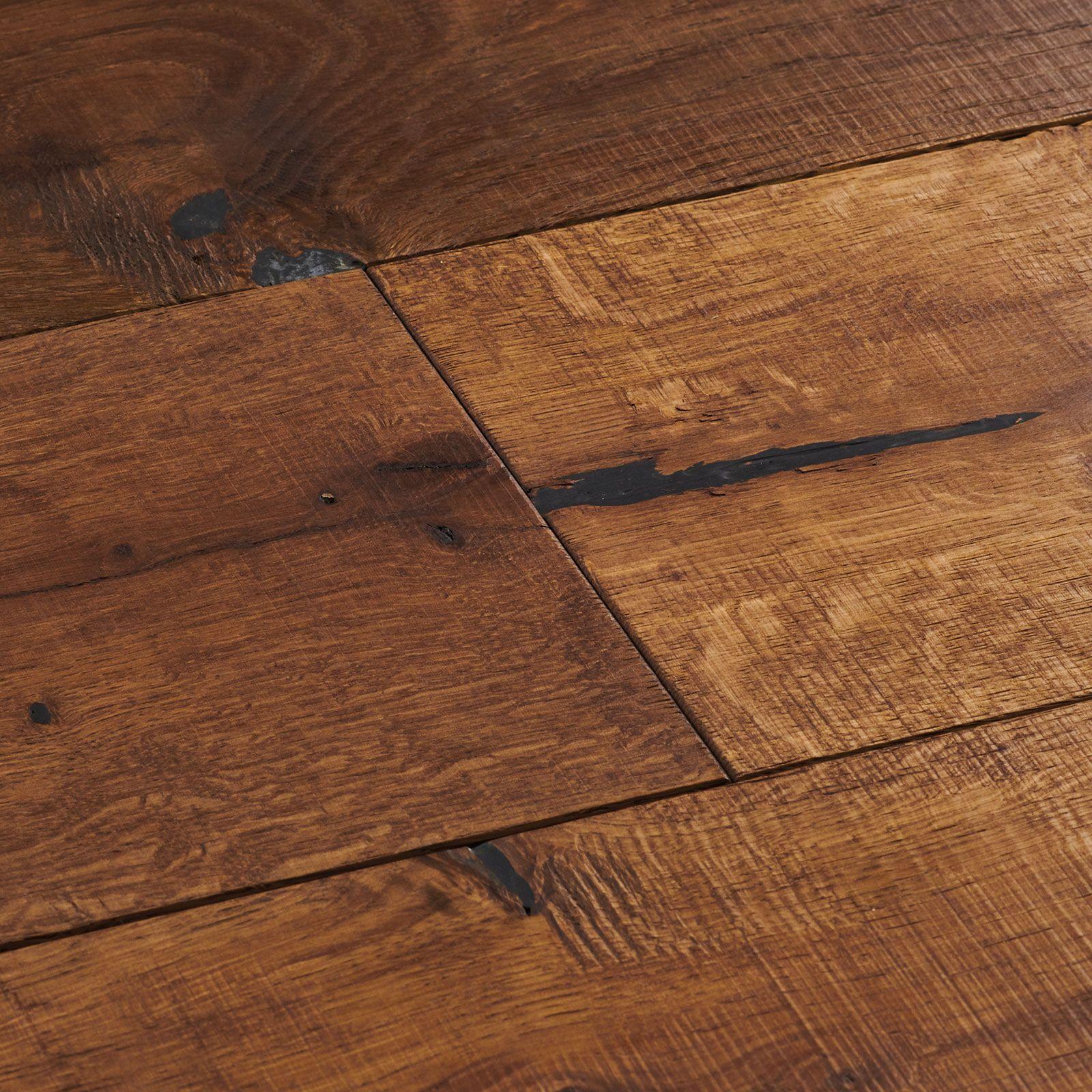 Distressed White Oak Flooring