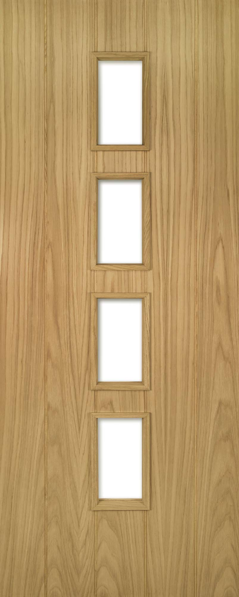 Deanta Unfinished Fd30 Oak Galway Unglazed Door